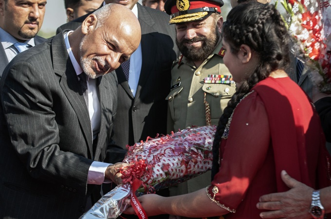 سفر رئیس جمهور افغانستان به پاکستان