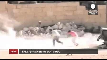 یورونیوز ازجعلی بودن فیلم جنایت در سوریه پرده برداشت