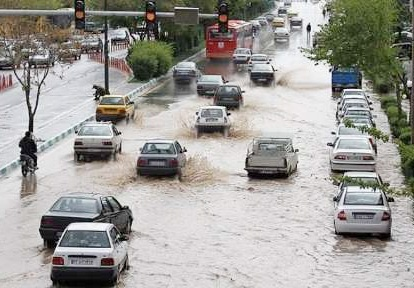 هشدار بارش باران و آبگرفتگی معابر در گیلان