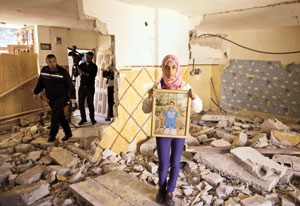 تخریب خانه فلسطینیها در نبرد برای بیت المقدس