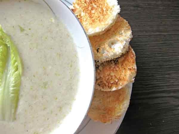 سوپ کاهو