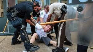 بازداشت ۴۰۰ معترض آمریکایی از آغاز ناآرامیهای فرگوسن