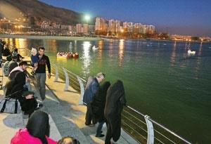 رونق زندگی در شمال غربی پایتخت با ایجاد دریاچه چیتگر