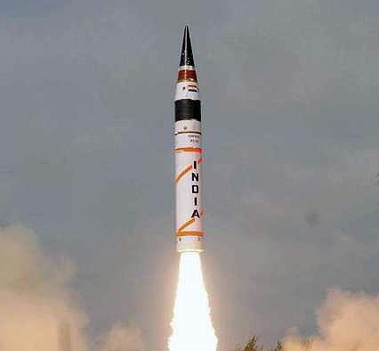 هند موشک قادر به حمل کلاهک هستهای را آزمایش کرد