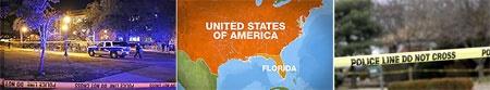 تیراندازی در کتابخانه دانشگاه فلوریدای آمریکا با یک کشته و ۳ زخمی