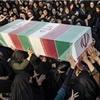 تشییع پیکر پاک شهیدان نیروی انتظامی در زهک
