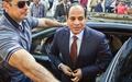 دیدار رئیس جمهور مصر با نخست وزیر ایتالیا