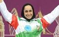ساره جوانمردی به عنوان بهترین ورزشکار زن سال ۲۰۱۴ آسیا انتخاب شد