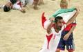 جدول و مدالهای ایران در بازیهای آسیایی ساحلی