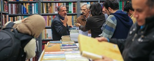 گزارش تصویری، راسته کتابفروشها؛ کتابگردی به تهرانگردی پیوست