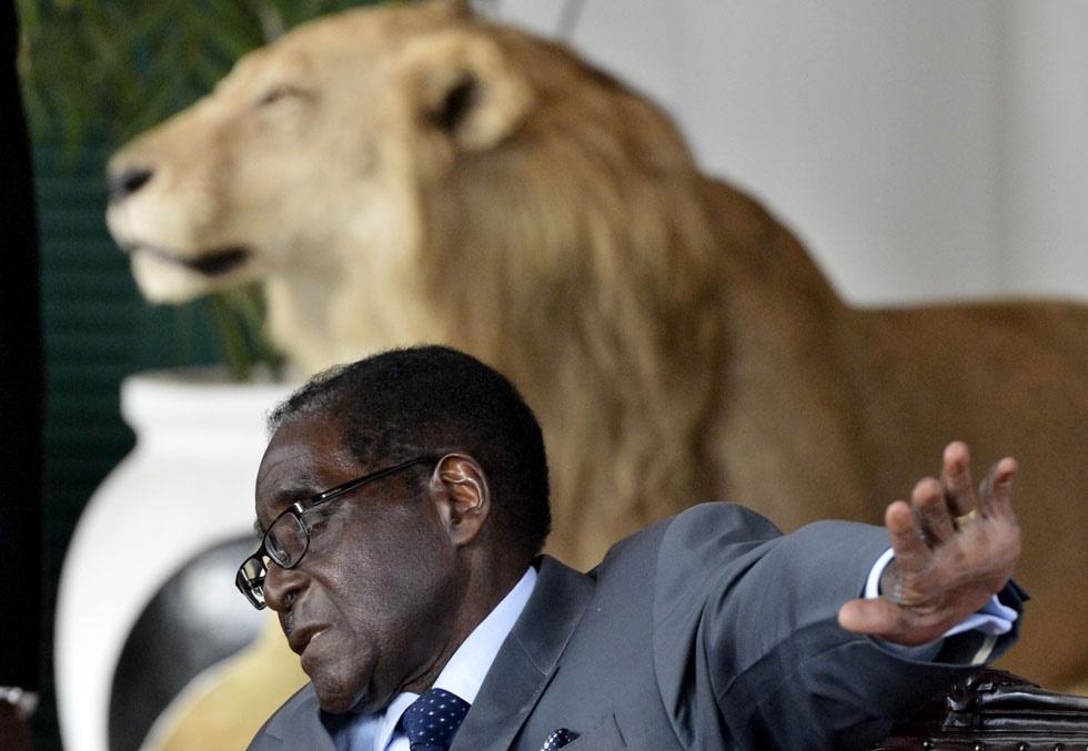 اخراج معاون موگابه و ۸ وزیر کابینه