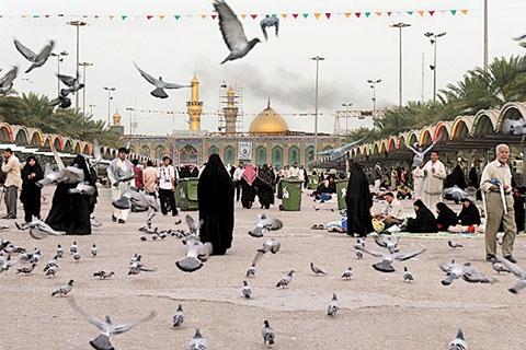 ۱۰سال پیش، غبار غربت همه حرمهای مطهر عراق را پوشانده بود