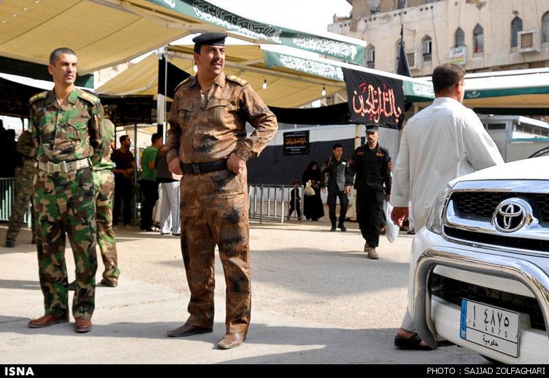 تدابیر امنیتی شدید در عراق برای حمایت از زائران حسینی