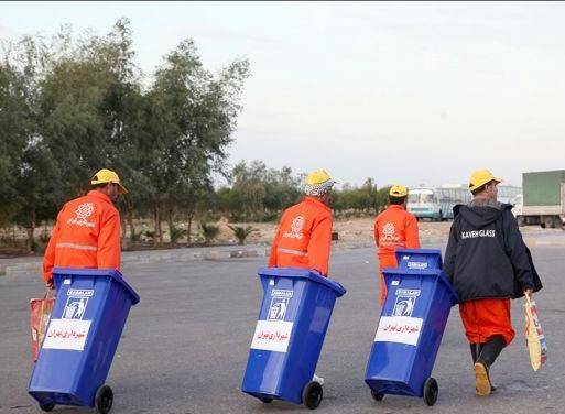 جمعآوری روزانه ۱۰ هزار تن زباله درکربلا