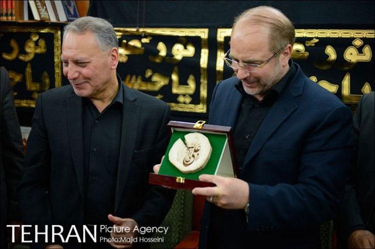 ورود قالیباف به نجف - عکس:مجید حسینی