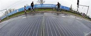 ابتکار شهر کوچک هلندی برای جذب انرژی خورشیدی در پیادهروها