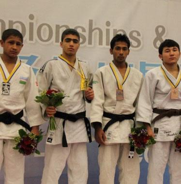 یک طلا و سه برنز برای ایران در مسابقات جودوی نوجوانان آسیا