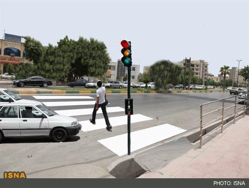 دستورالعمل خطکشی سفید معابر تهران تغییر میکند