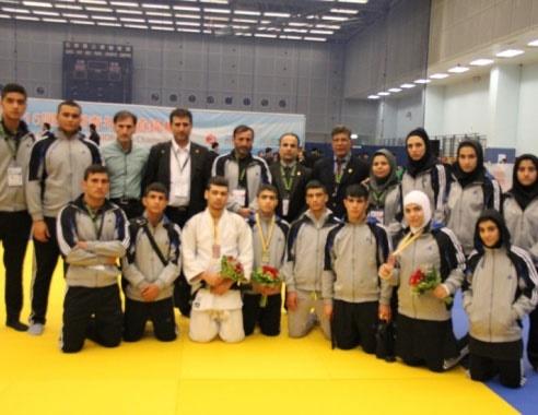 پایان کار ایران در جودوی قهرمانی آسیا با کسب ۱۰ مدال