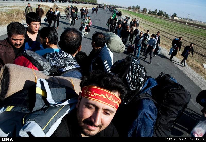تعداد زائران ورودی از مهران از ۷۰۰هزار نفر گذشت