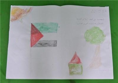 نقاشیهای کودکان غزه