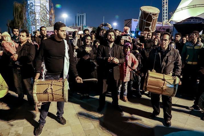 استقبال ۱۸ هزار نفری شهروندان از ویژه برنامههای عباس آباد