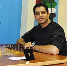 احسان قائم مقامی قهرمان سومین دوره مسابقات شطرنج برقآسا شد