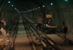 تونل مترو