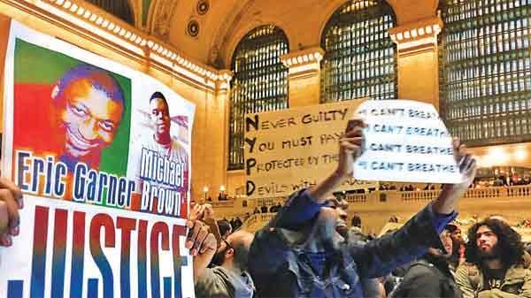 اعتراض گسترده مردم آمریکا علیه پلیس و دستگاه قضایی