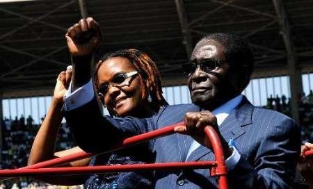 موگابه همسرش را به عنوان جانشین خود معرفی کرد
