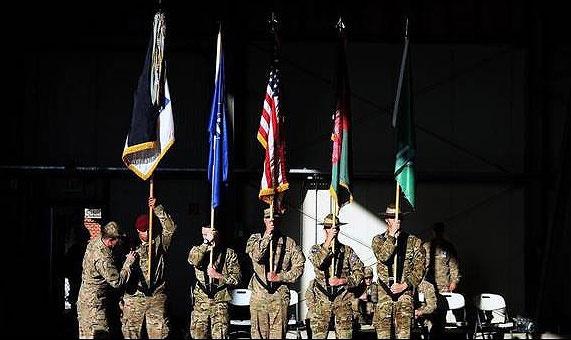 پایان رسمی ماموریت رزمی ناتو و آمریکا در افغانستان