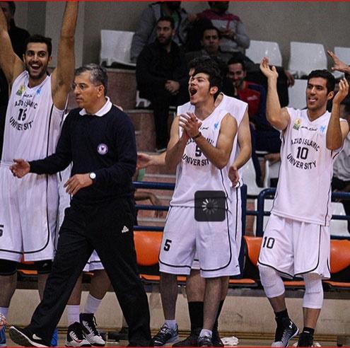 پایان نیم فصل اول لیگ ملی بسکتبال با قهرمانی دانشگاه آزاد