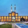 احداث قبر در میدان تاریخی امیرچخماق یزد