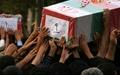 پیکر چهار شهید دفاع مقدس در استان کرمان تشییع شد