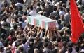 پیکر مطهر دو شهید گمنام در شهر زاغه تشییع و خاکسپاری شد