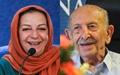 اشک و لبخند مرضیه برومند برای مرتضی احمدی