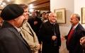گشایش نمایشگاه خوشنویسی شیرچی با حضور دکتر آخوندی و مرادخانی