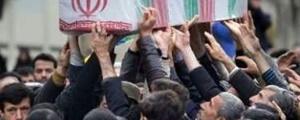 تشییع پیکر مطهر شهدای گمنام هشت سال دفاع مقدس در شهرهای ایران