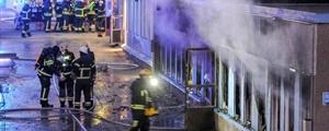 آتشزدن یک مسجد در سوئد پنج زخمی به جای گذاشت