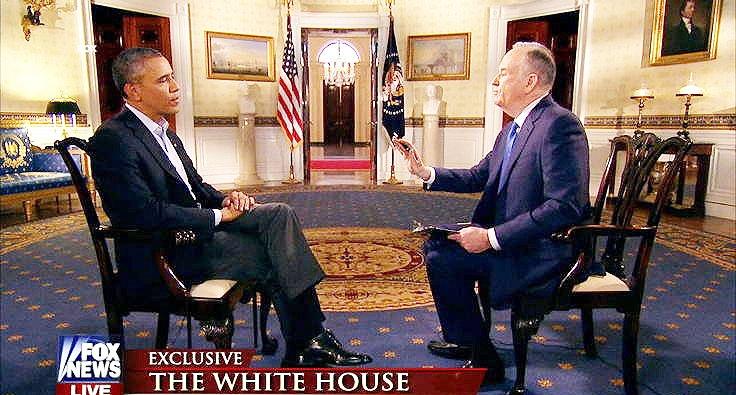 جدال لفظی اوباما با مجری فاکس نیوز