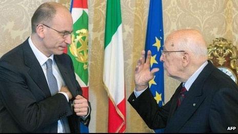 رئیسجمهوری ایتالیا استعفای نخستوزیر را پذیرفت