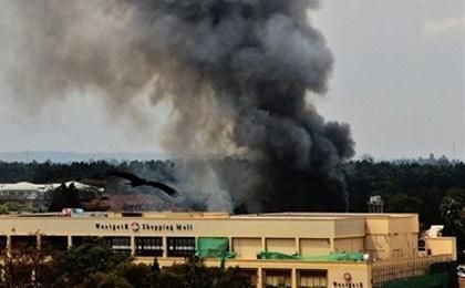 حمله تروریستی به کاخ ریاست جمهوری سومالی