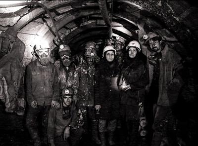زن معدنکار