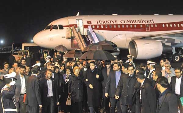 سفر رجب طیب اردوغان، نخستوزیر ترکیه به تهران