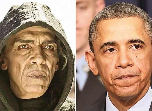 حذف شیطان یک سریال  بهدلیل شباهت به اوباما