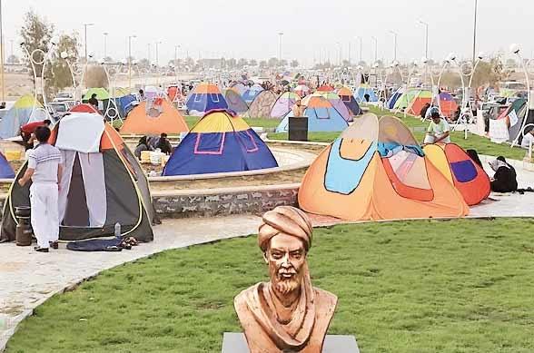 مسافران نوروزی در مکانهای تعیین شده چادر بزنند