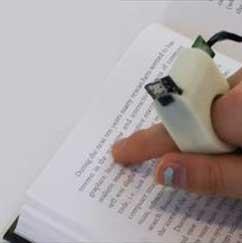 انگشتری که جایگزین خط بریل میشود