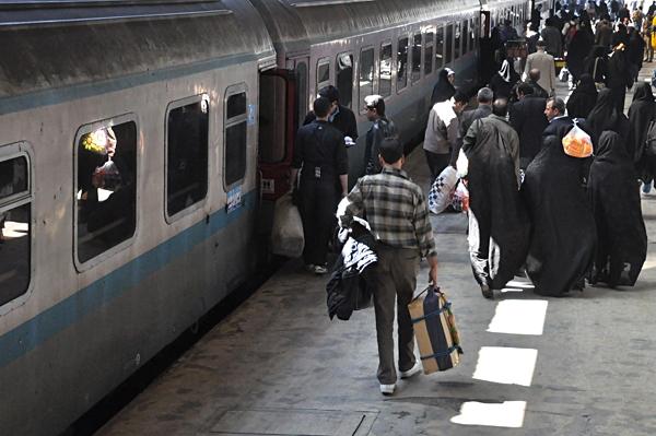 تسهیلات سفر با قطار