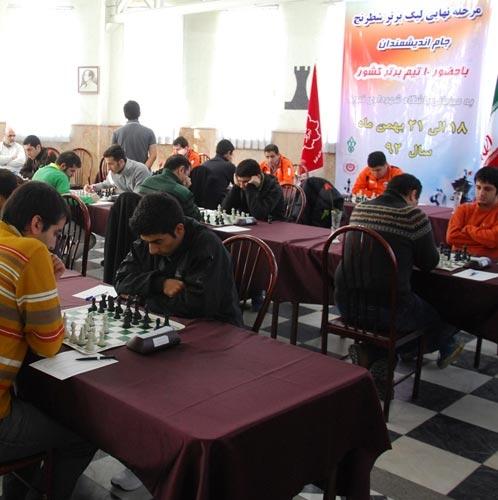 تیم سرمایه گذاری شهر آتیه قهرمان لیگ برتر شطرنج شد