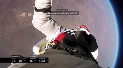 تصاویر سقوط از فضا